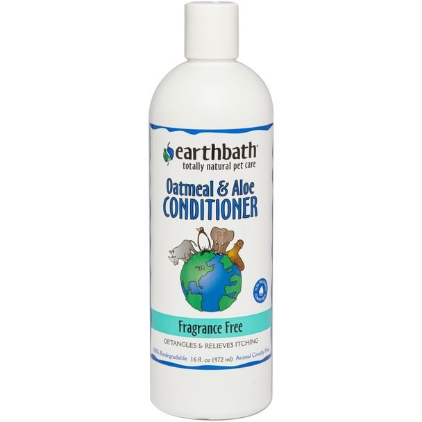 Earthbath Earthbath Oatmeal & Aloe Fragrance Free Conditioner 16oz
