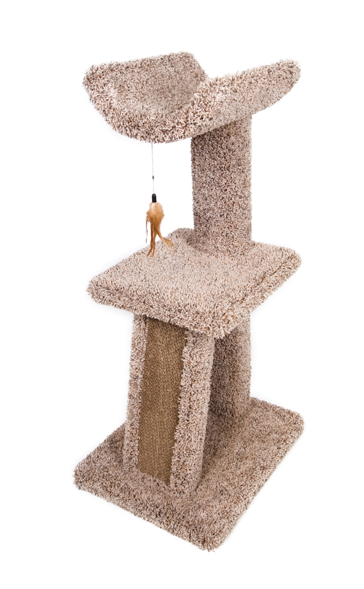 Ware Ware Kitty Cradle And Corrugated Scratcher Cat Tree