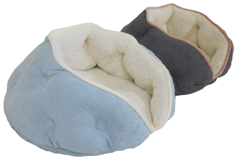Arlee Arlee Pet Products Luna Tufted Clam shell Bed