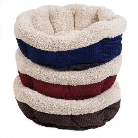 Petmate Aspen Pet Self Warming Corduroy Cat Bed