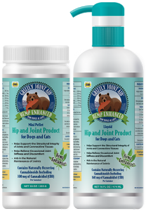 Grizzly Grizzly Hemp Enhanced Hip & Joint Liquid Cat & Dog CBD Supplement 16oz