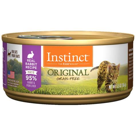 Instinct Instinct Original Rabbit Wet Cat Food 5.5oz