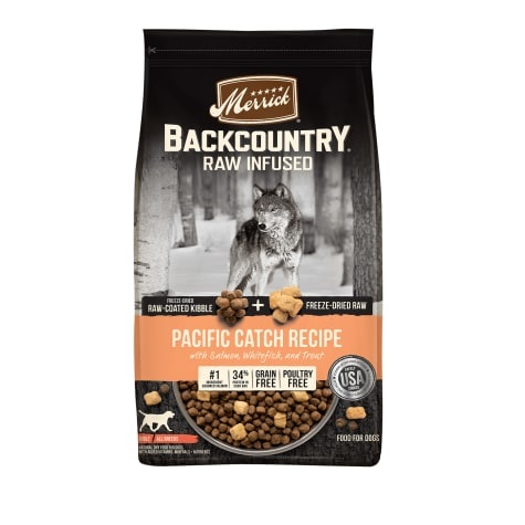 Merrick Merrick Backcountry Raw Infused Pacific Catch Recipe Dry Dog Food