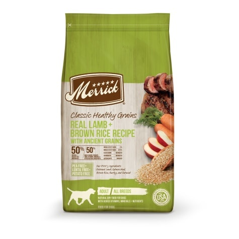 Merrick Merrick Classic Lamb & Green Peas Recipe with Ancient Grains Dry Dog Food