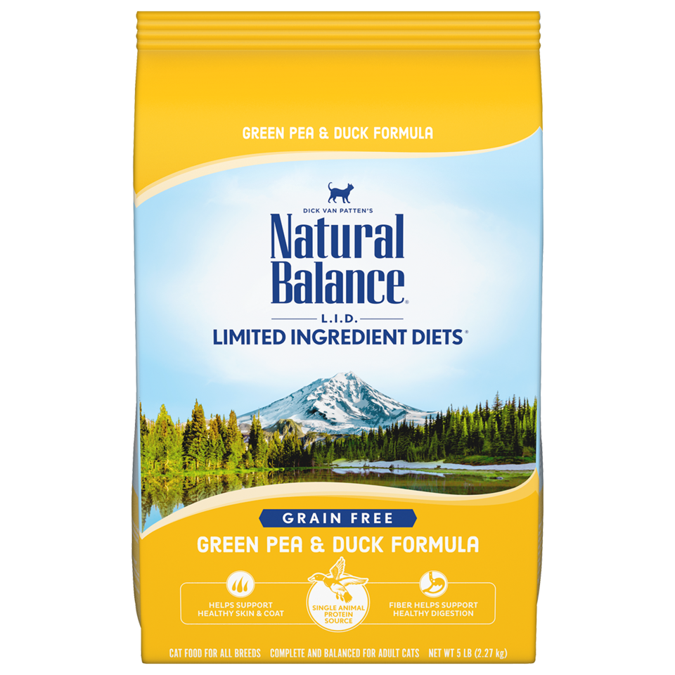 Natural Balance Natural Balance Green Pea & Duck Dry Cat Food