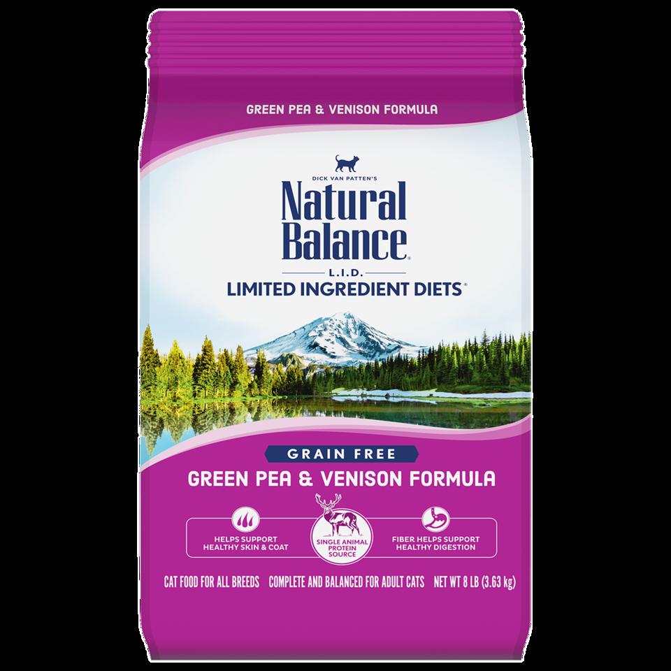 Natural Balance Natural Balance Green Pea & Venison Dry Cat Food 4.5#