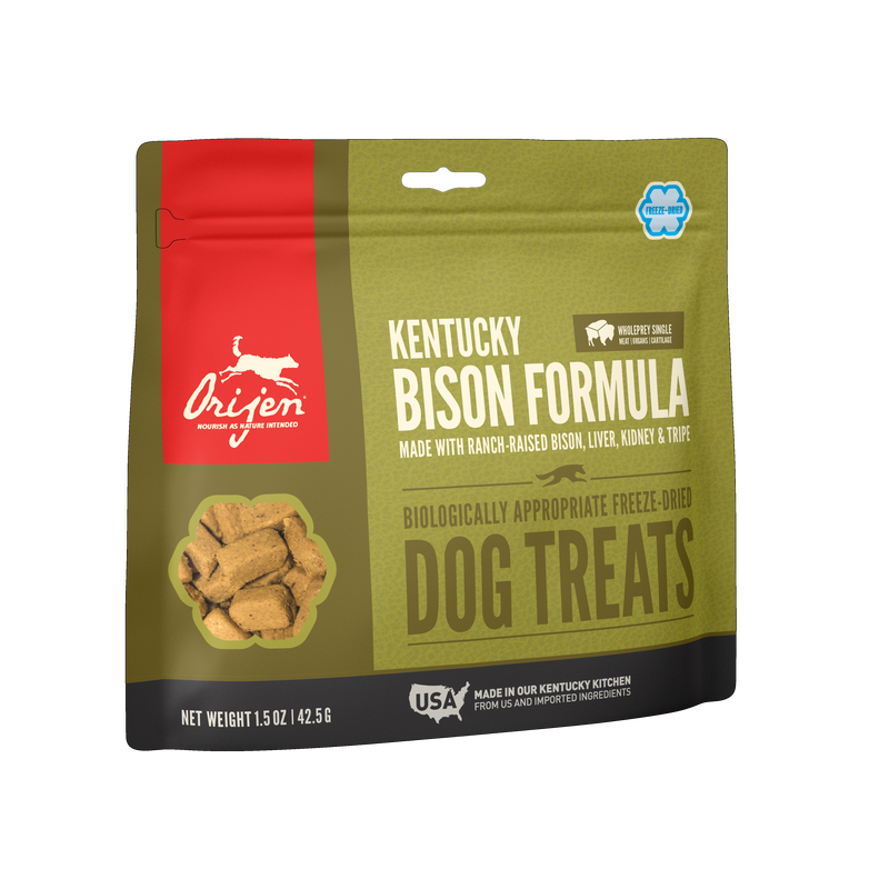 Orijen Orijen Freeze Dried Kentucky Bison Dog Treats 3.25oz
