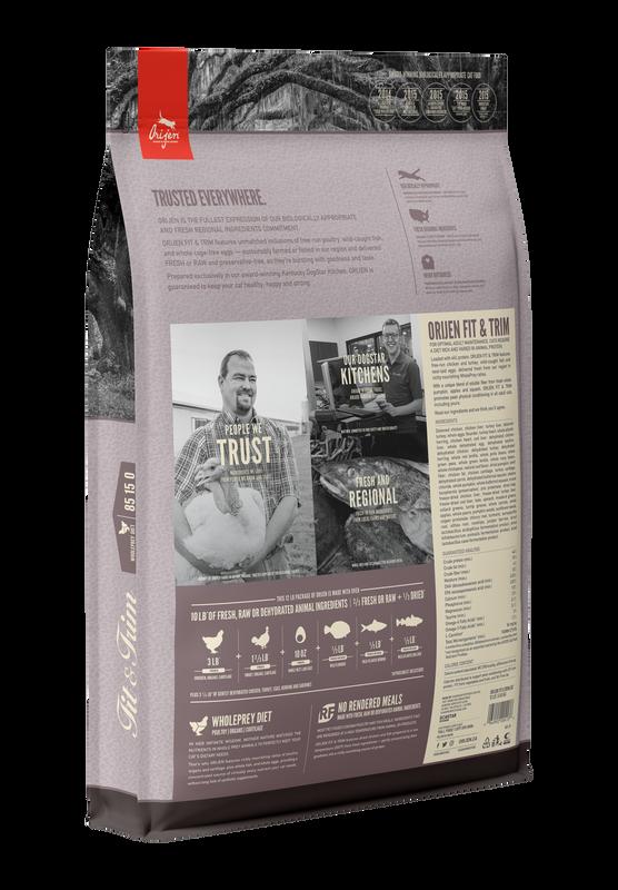 Orijen Orijen Fit & Trim Dry Cat Food 4#