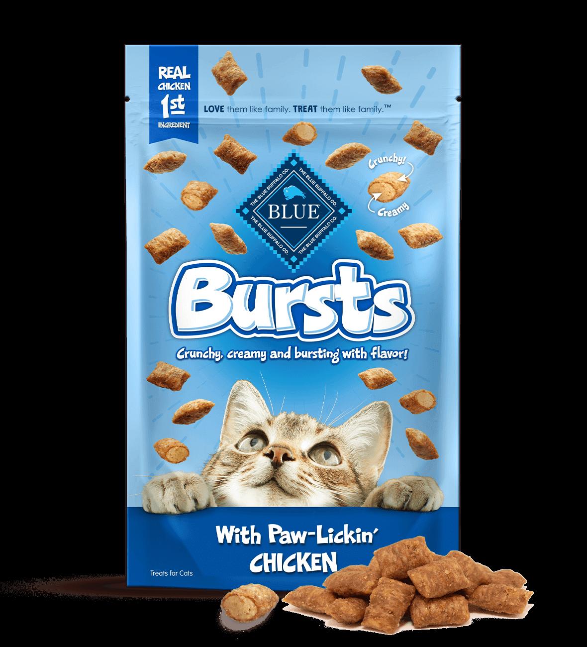 Blue Buffalo Blue Buffalo Bursts Chicken Cat Treat 2oz