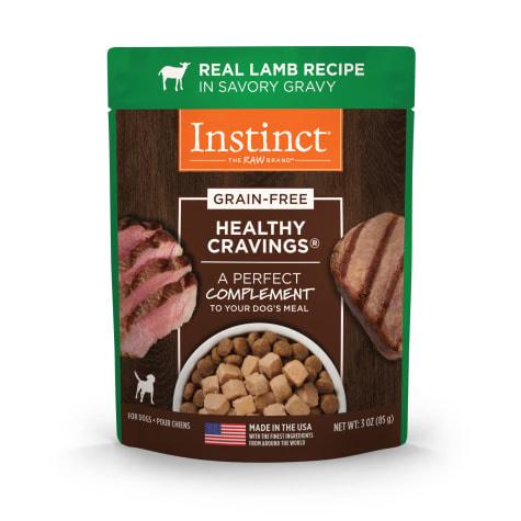 Instinct Instinct Healthy Cravings Lamb Wet Dog Food Pouch 3oz