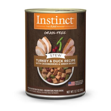 Instinct Instinct Stew Turkey & Duck Wet Dog Food 12.7oz