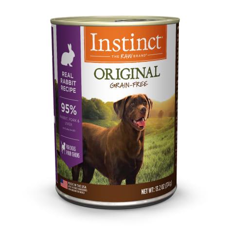 Instinct Instinct Original Rabbit Wet Dog Food 13.2oz