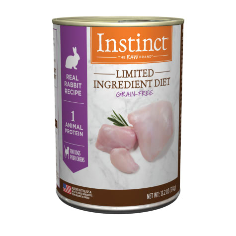 Instinct Instinct Limited Ingredient Diet Rabbit Wet Dog Food 13.2oz