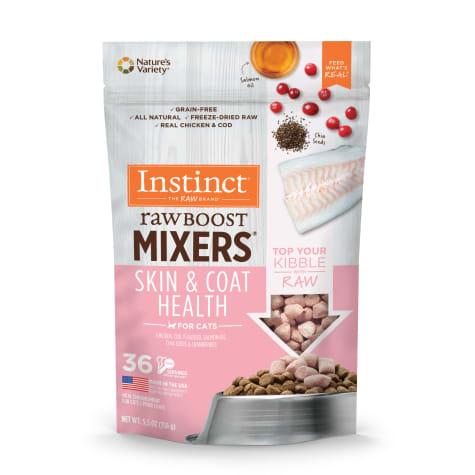 Instinct Instinct Raw Boost Freeze Dried Mixers Skin & Coat Cat 5.5oz