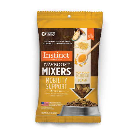 Instinct Instinct Raw Boost Freeze Dried Mixers Mobility Support Dog