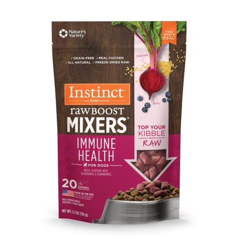 Instinct Instinct Raw Boost Freeze Dried Mixers Immune Health Dog