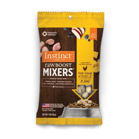 Instinct Instinct Raw Boost Freeze Dried Mixers Chicken Dog