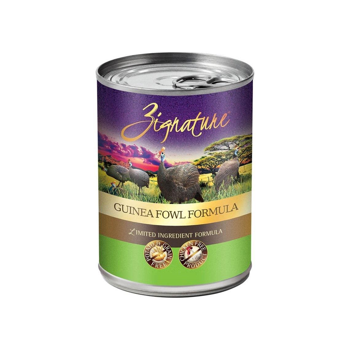 Zignature Zignature Guinea Fowl Wet Dog Food 13oz