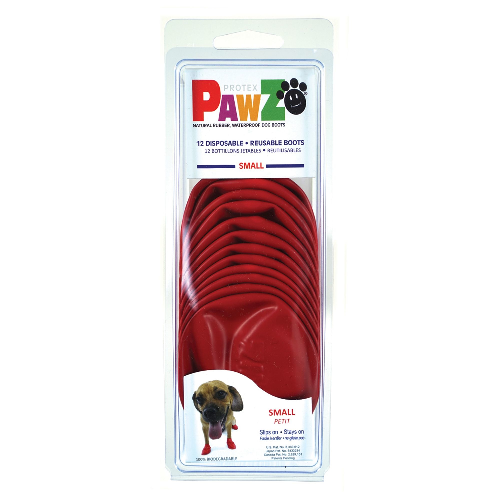 Pawz PawZ Disposable Rubber Dog Boots 12pk