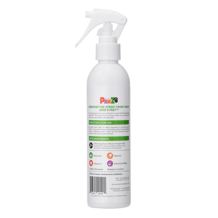 Pawz PawZ Sanitizing Spray 8oz