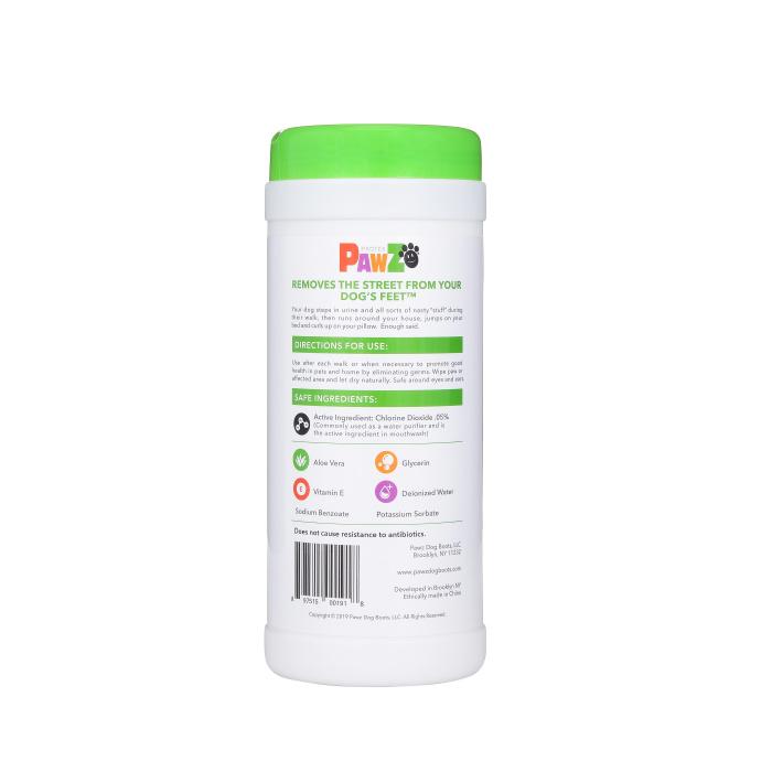 Pawz PawZ Sanitizing Wipes 60ct