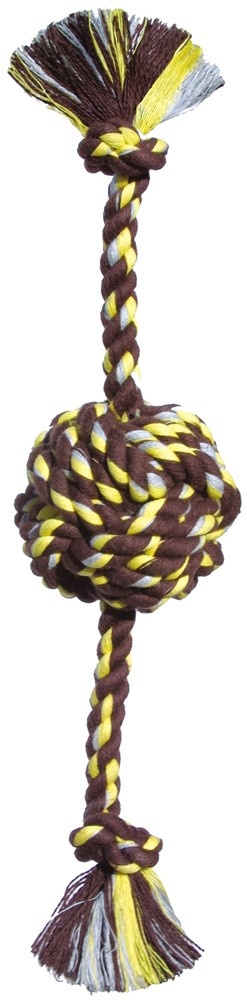 Mammoth Mammoth Monkey Fist Ball Rope Tug Dog Toy
