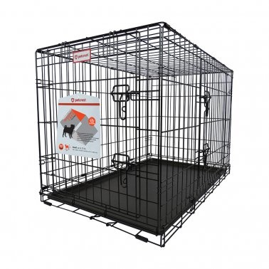 Neighborhood Pet Products Petcrest Folding Dog Crate Double Door