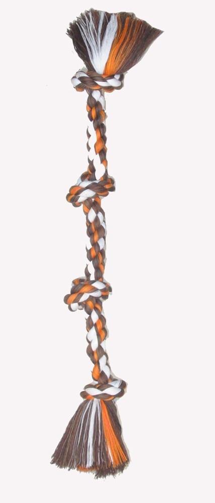 Mammoth Mammoth 4 Knot Rope Tug Dog Toy Large