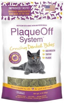 Proden ProDen PlaqueOff Crunchy Dental Bites Cat Treat 3oz