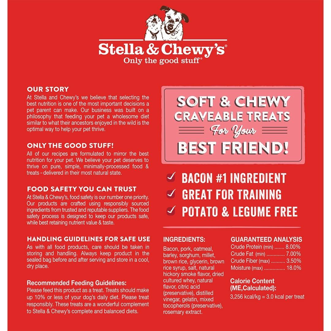 Stella & Chewy's Stella & Chewy's Crav'n Bac'n Bites Pork Dog Treats 8.25oz