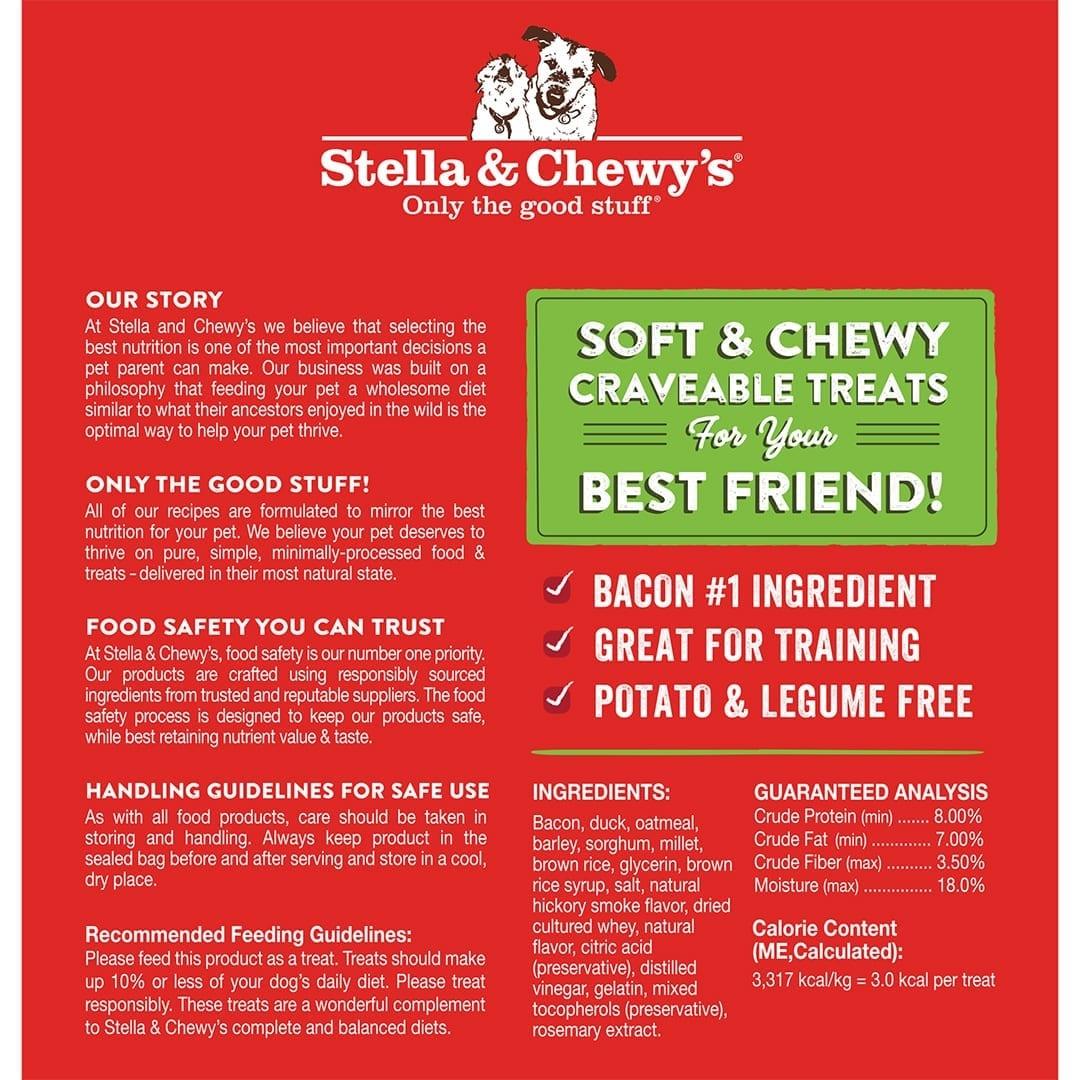 Stella & Chewy's Stella & Chewy's Crav'n Bac'n Bites Duck Dog Treats 8.25oz