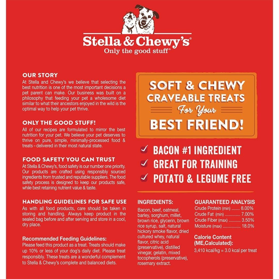 Stella & Chewy's Stella & Chewy's Crav'n Bac'n Bites Beef Dog Treat 8.25oz