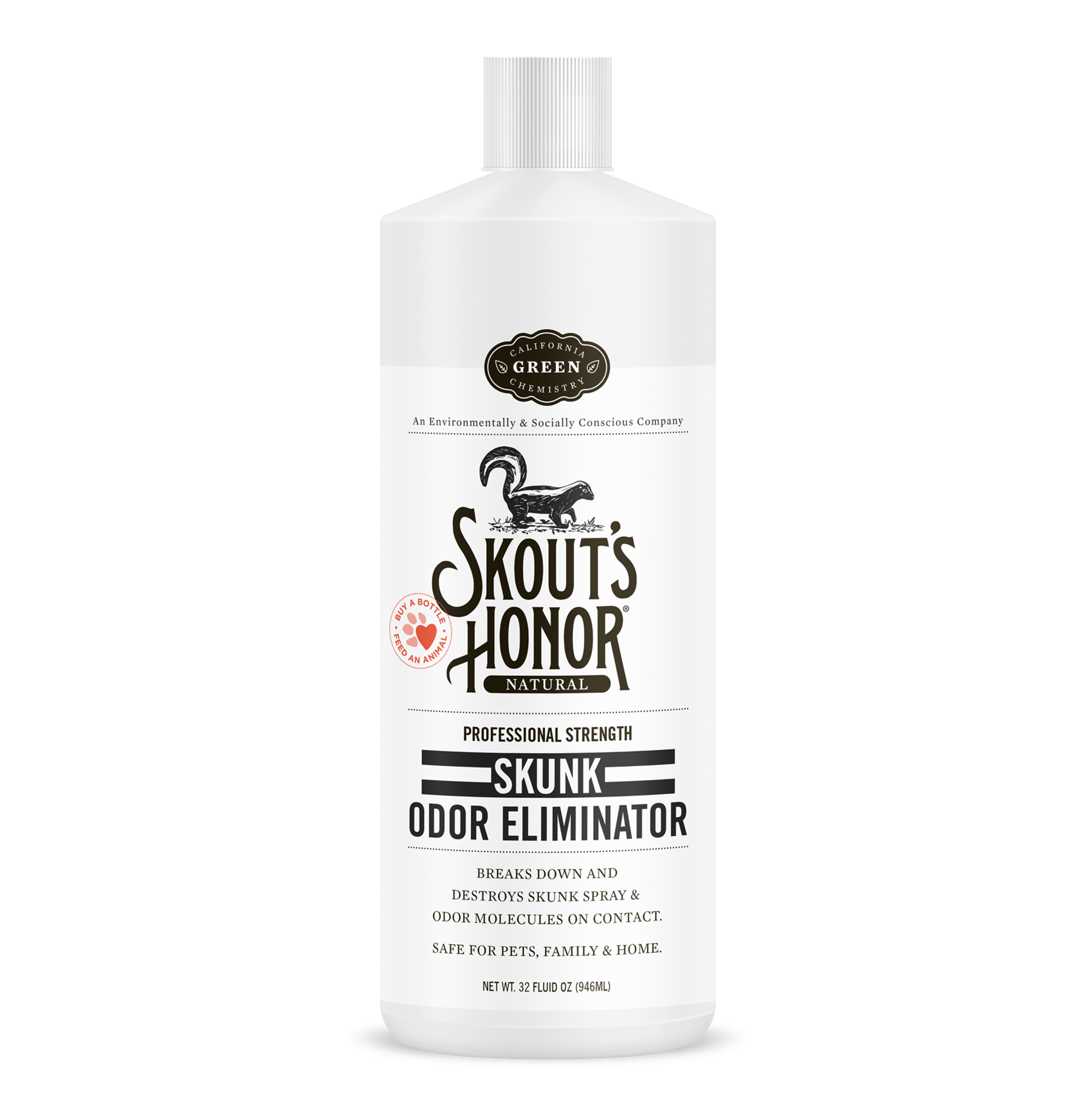 Skout's Honor Skout's Honor Skunk Odor Eliminator Home & Pet Deodorizer 32oz