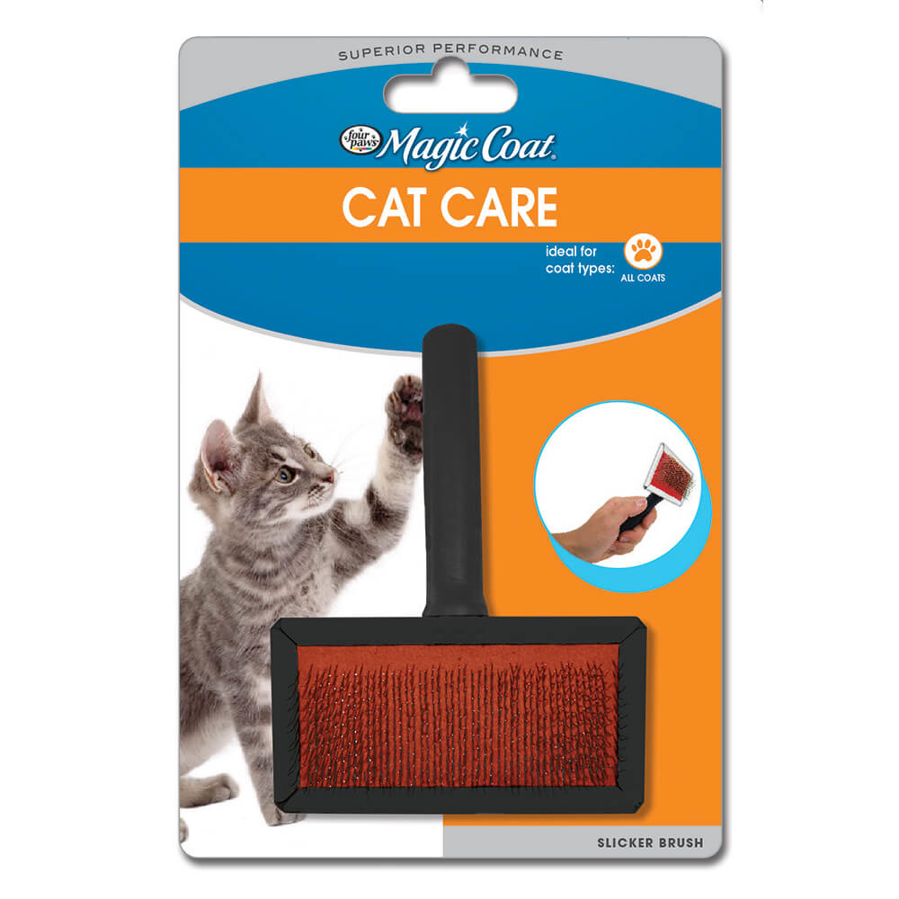 Four Paws Four Paws Slicker Wire Brush for Cats
