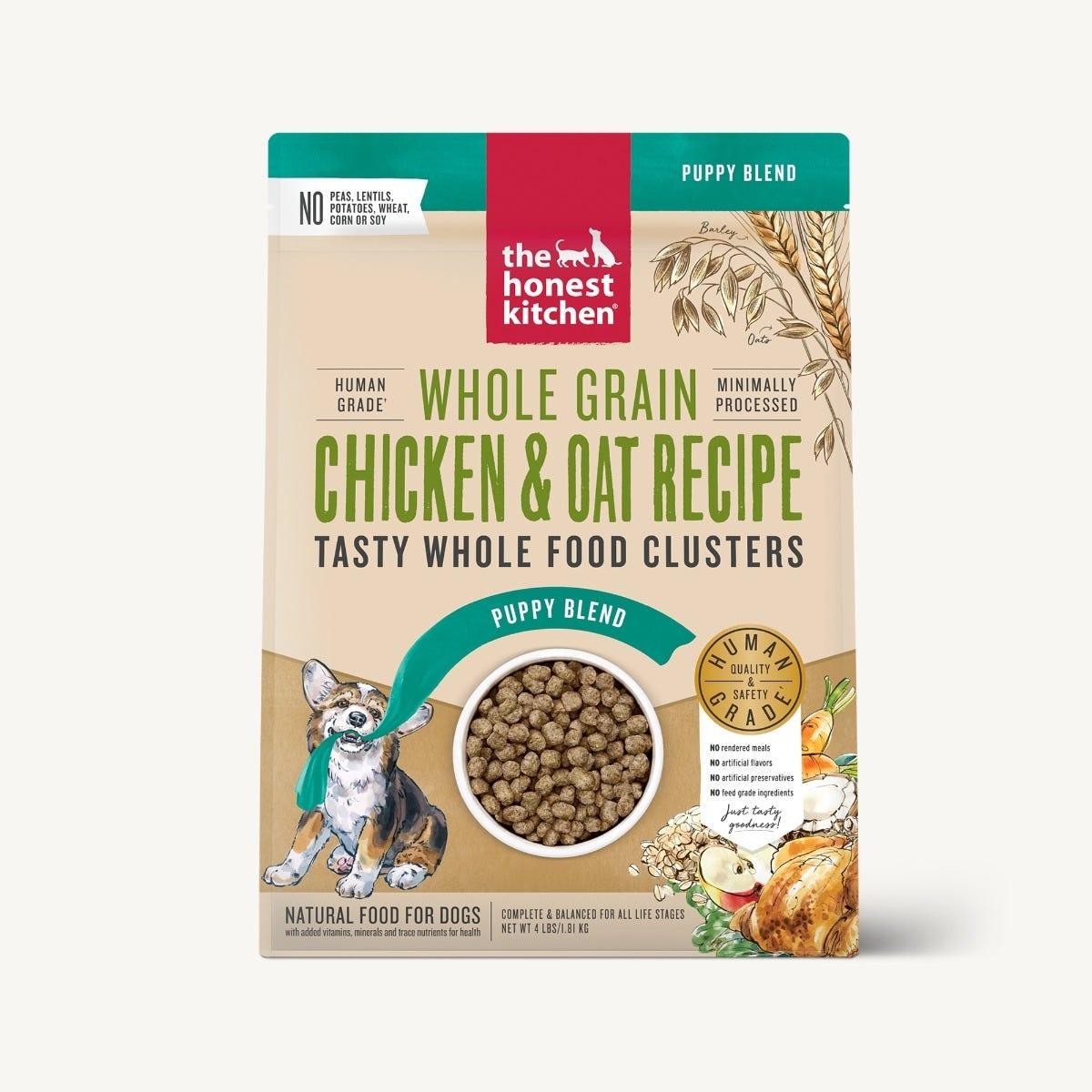 The Honest Kitchen The Honest Kitchen Clusters Puppy Whole Grain Chicken Dog Food