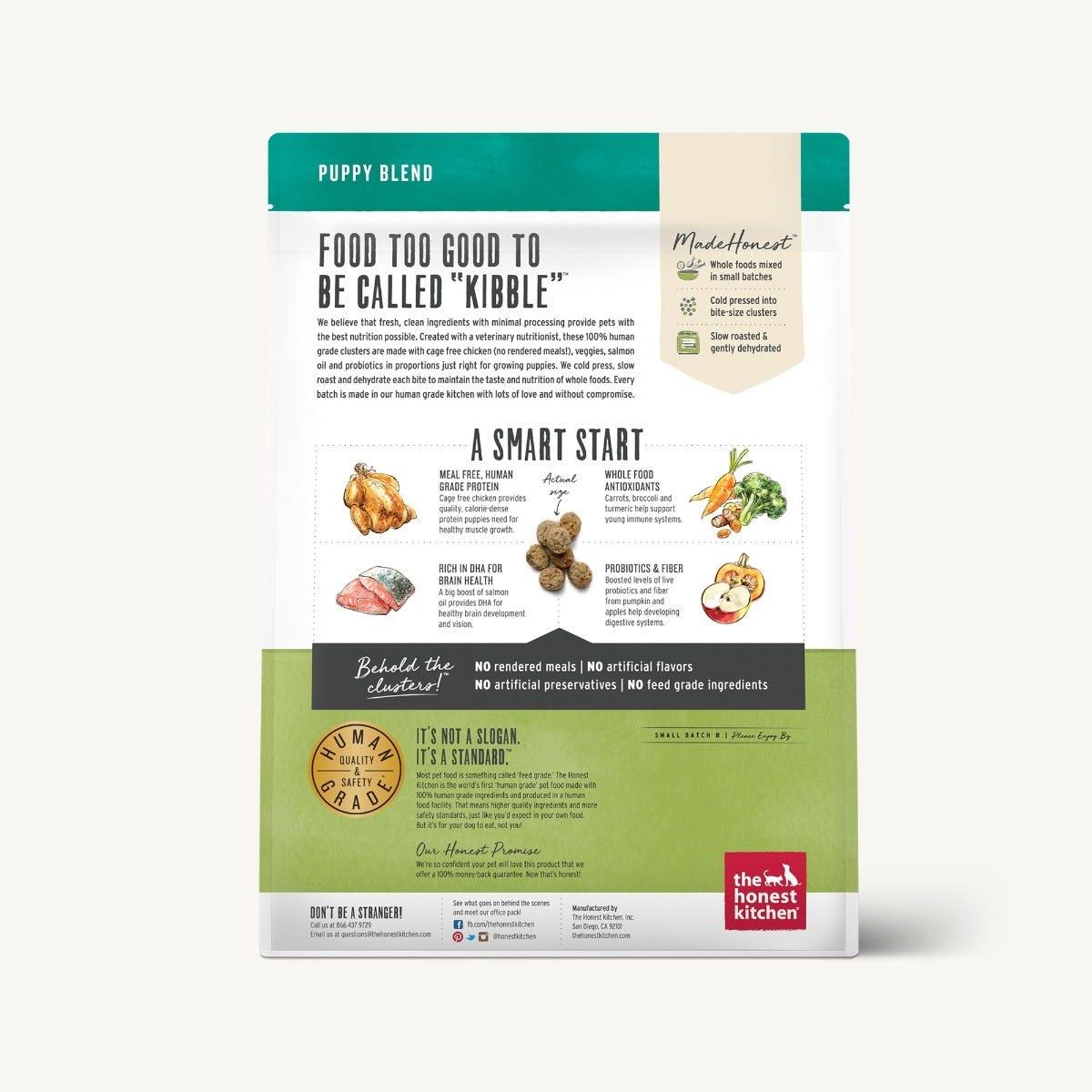 The Honest Kitchen The Honest Kitchen Clusters Puppy Grain Free Chicken Dog Food