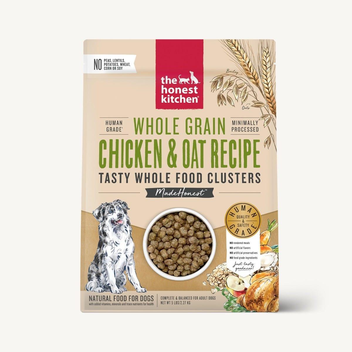 The Honest Kitchen The Honest Kitchen Clusters  Whole Grain Chicken Dog Food