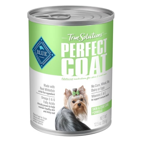 Blue Buffalo Blue Buffalo True Solutions Perfect Coat Wet Dog Food 12.5oz