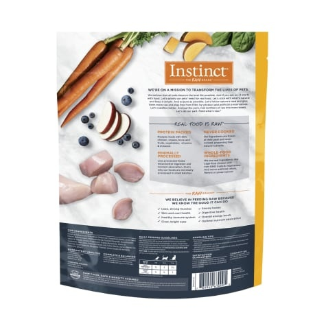 Instinct Instinct Accessible Bites Cage Free Chicken Raw Cat Food 1.25#