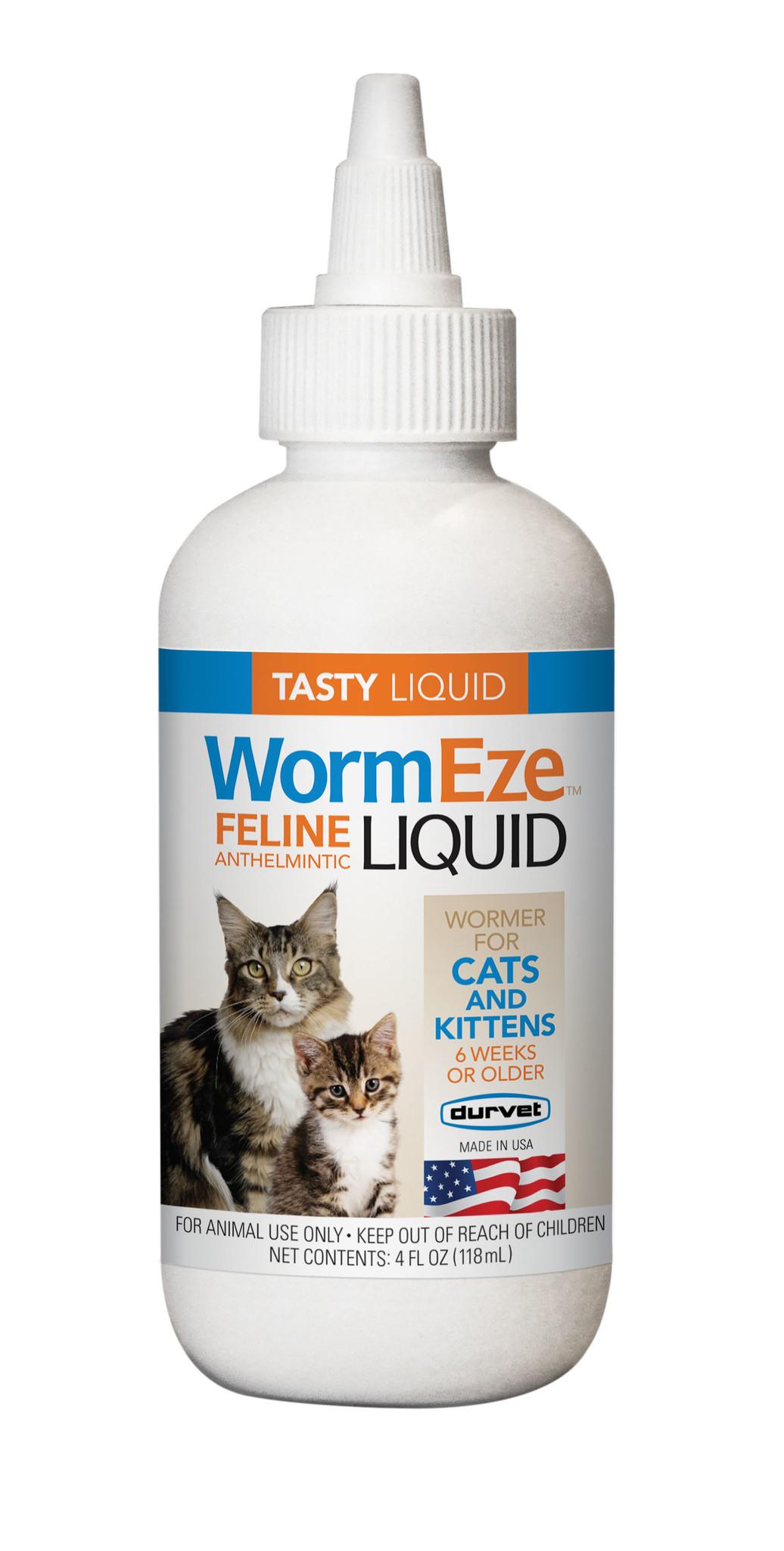 Durvet Durvet Feline Worm Liquid 4oz