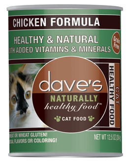 Dave's Dave's Chicken Wet Cat Food 12.5oz