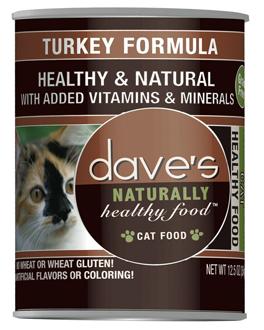 Dave's Turkey Formula Wet Cat Food 12.5oz