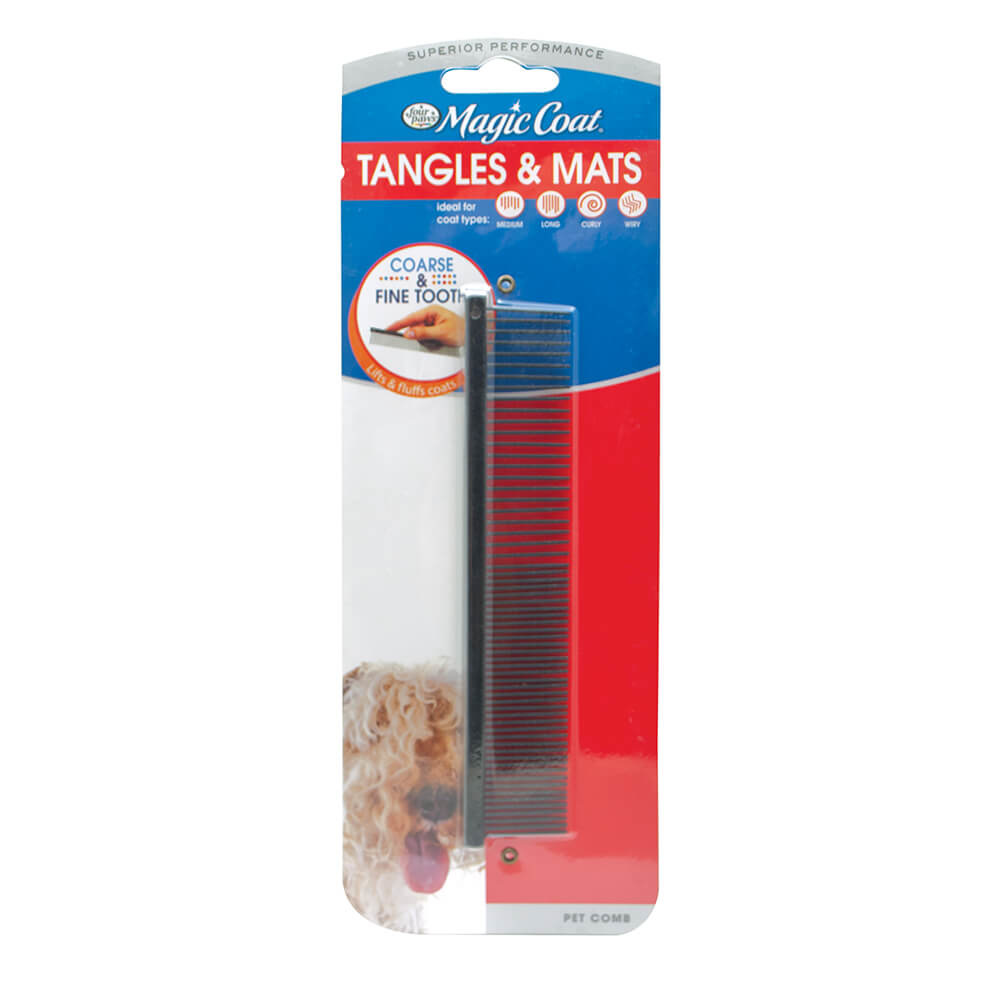 Four Paws Four Paws Magic Coat Pet Comb Tangles Mats