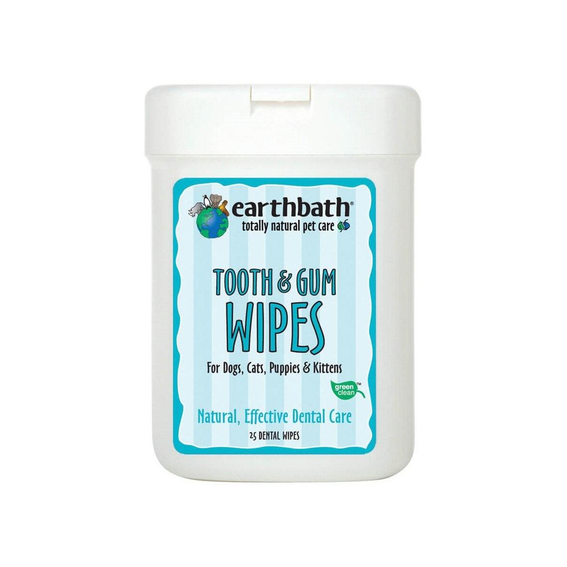 Earthbath Earthbath Tooth and Gum Wipes