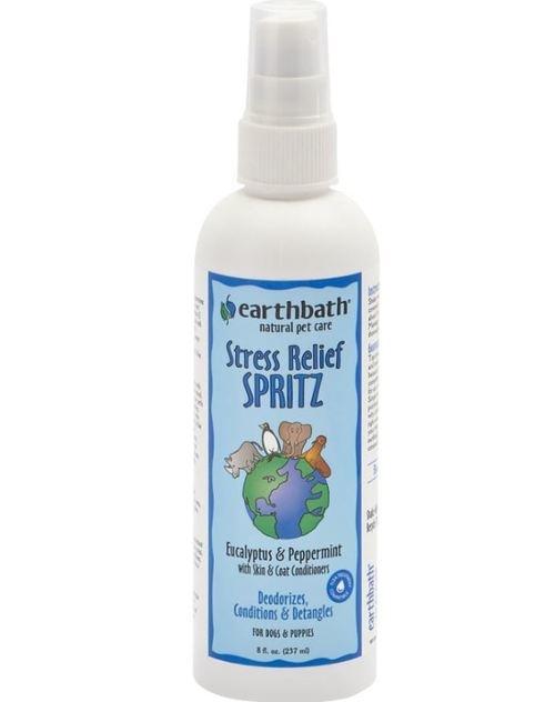 Earthbath Earthbath 3-in-1 Stress Relief Eucalyptus & Peppermint Deodorizing Spritz 8oz