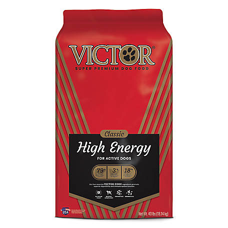 Victor Victor High Energy Dry Dog Food 50#