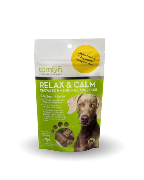 Tomlyn Tomlyn Relax & Calm Large Dog Supplement 30ct