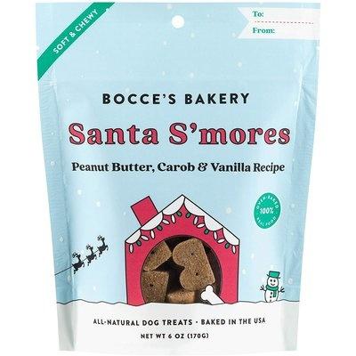 Bocce's Bakery Bocce's Bakery Santa S'mores Soft Dog Treats 6oz