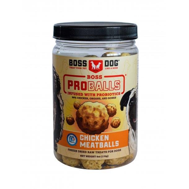 Boss Dog Boss Dog Proballs Freeze Dried Chicken Meatballs Dog Supplement