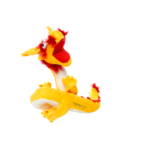 VIP Products VIP Mighty Dragons Yellow Dog Toy